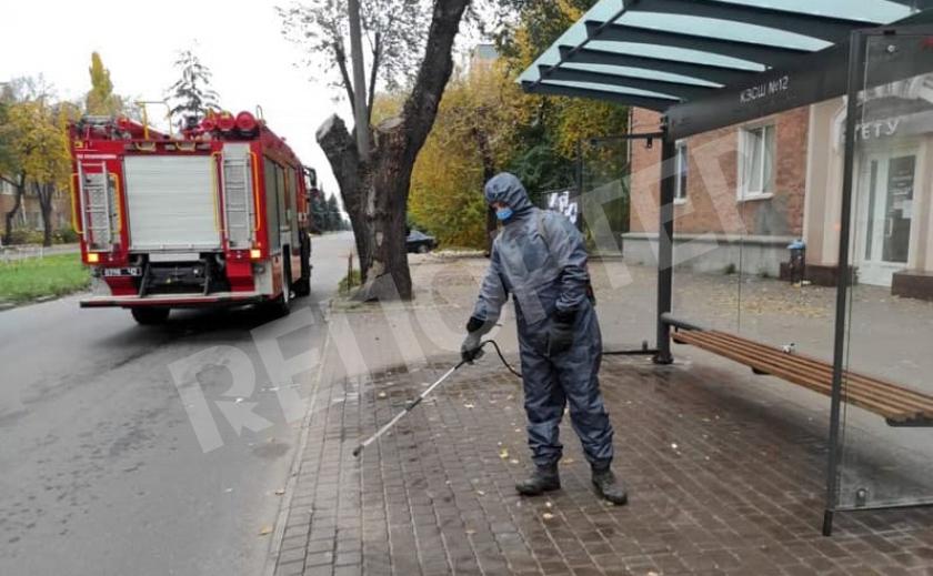 Днепропетровщину громко отмывают от заразы