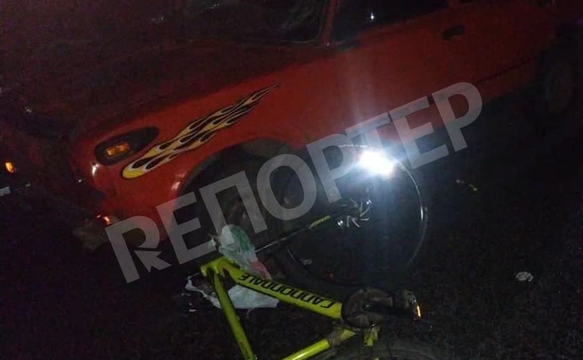 В ДТП на Николаевском шоссе пострадал велосипедист