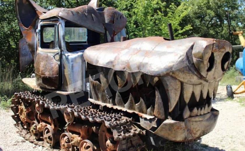 Железный монстр. Криворожские тракторы стали опасными для людей