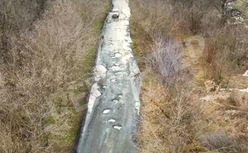 Трасса «Ж-0432». Под Кривым Рогом метеоритный дождь разбил дорогу