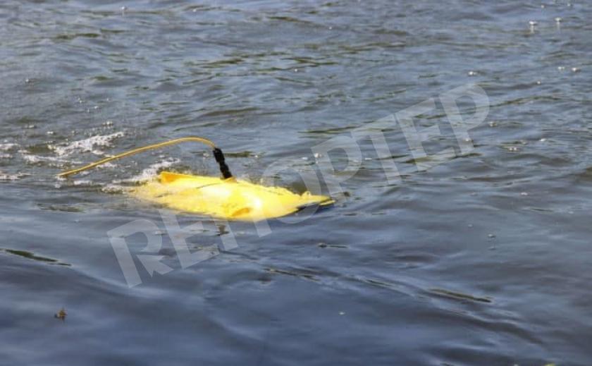 Пилотный проект. ДТЭК исследует подводные объекты дроном на Криворожской ТЭС