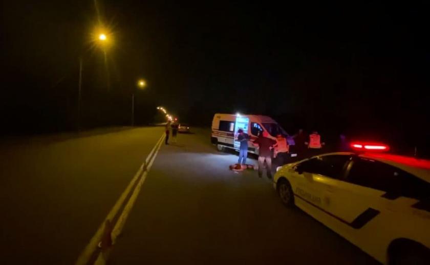 В Кривом Роге произошло ДТП. Пострадавший погиб на месте