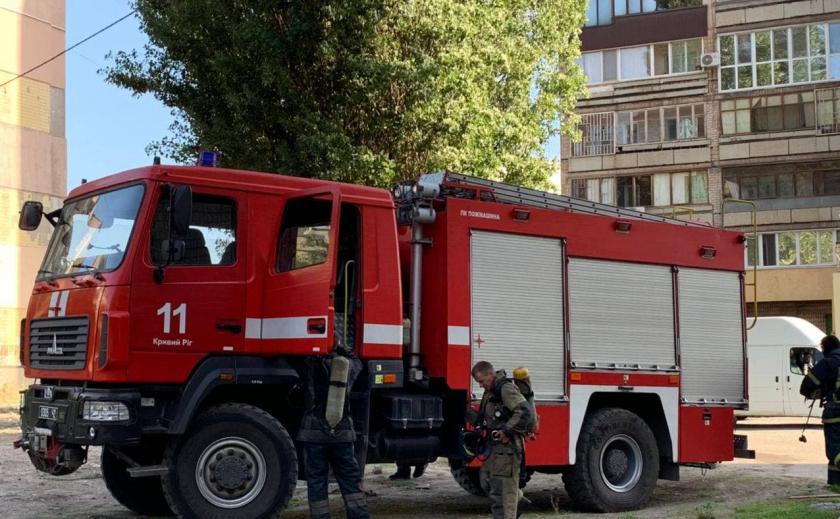 В криворожской девятиэтажке прозвучал взрыв: на балконе заблокированы четверо детей