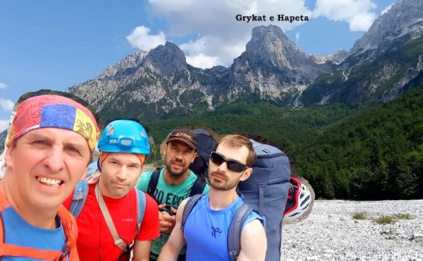 Павел Швец из Кривого Рога с группой альпинистов открыл новый скальный маршрут в Албании