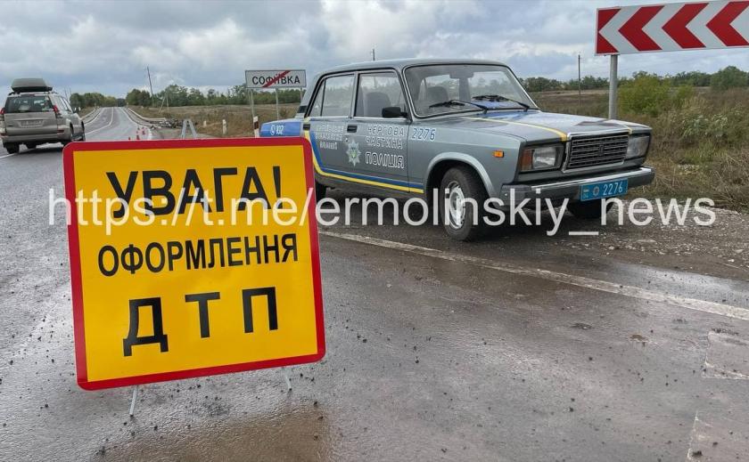 Под Кривым Рогом разбился насмерть водитель