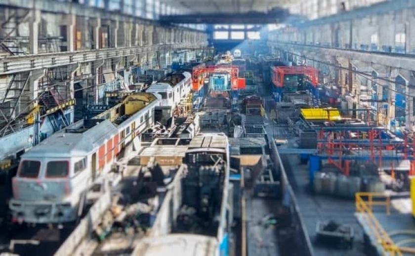 До конца 2021 года завод в Кривом Роге начнет ремонтировать тепловозы