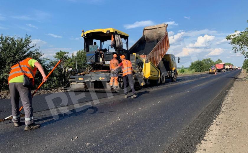 Начались ремонтные работы трассы Днепр – Кривой Рог – Николаев