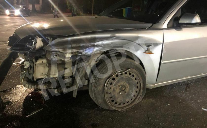 В криворожской автокатастрофе пострадали три человека