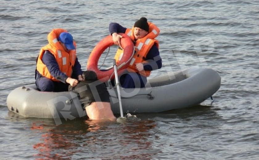 В Кривом Роге спасли пьяного, решившего переплыть Саксагань
