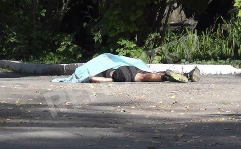 В криворожском парке обнаружили мертвеца