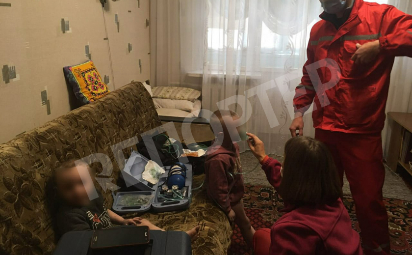 В Кривом Роге дети случайно устроили пожар и отравились